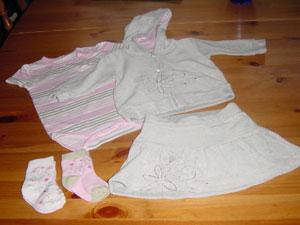 Fått nye klær