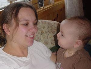 Mia Christine & mamma