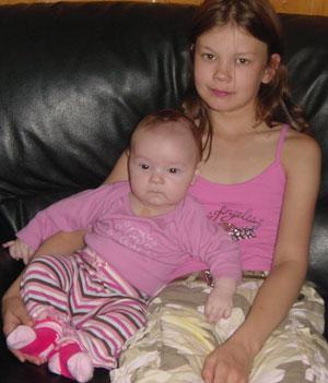Catharina og Mia Christine